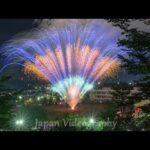 fireworks project to commemorate the 2nd anniversary of the enforcement of Tomiya City